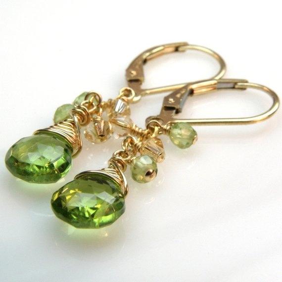 Jewelry, gold, Handmade, Green