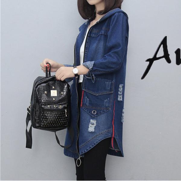 womenjeanjacketdenim, vintagejeansjacket, Coat, jeansjacketwomen