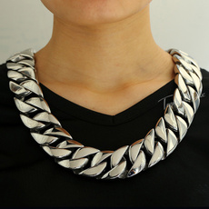 cubanchainnecklace, Heavy, Chain Necklace, hip hop jewelry
