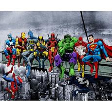 paintbynumber, Decor, Hero, Children's Toys