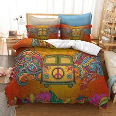 kombivan, peacesign, Pillow Shams, doublesize
