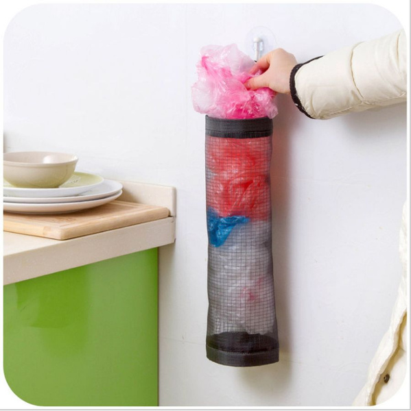 Plastic, Gray, Wall Mount, Kitchen & Home