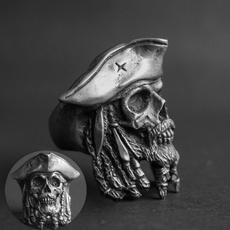 Steel, punk style, skull, piratesofthecaribbean