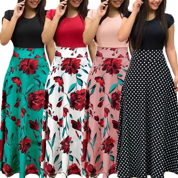 Women, long skirt, Fashion, high waist