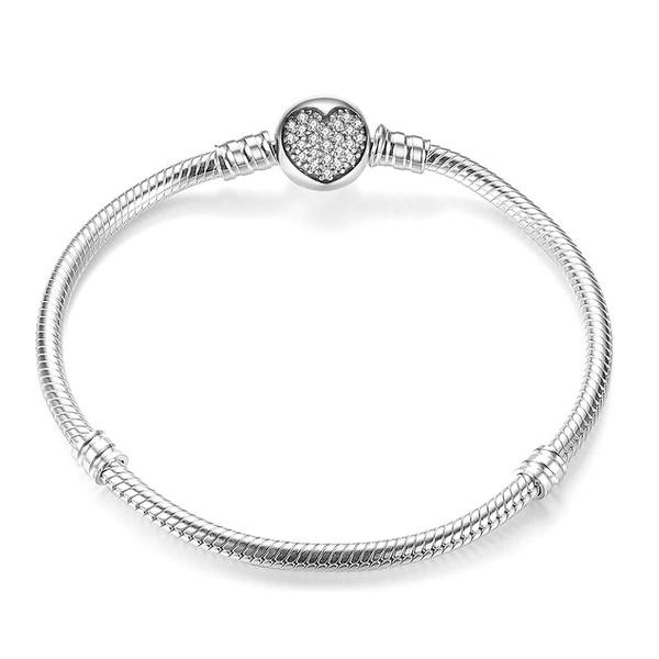 Sterling, Beaded Bracelets, Fashion, Chain
