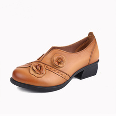 Sandals, Womens Shoes, leather, round toe