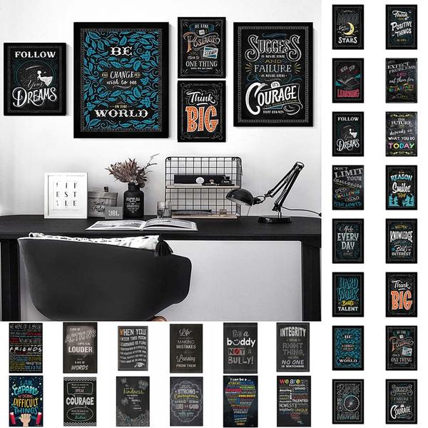 inspirationalposter, Wall Art, Home Decor, Simple