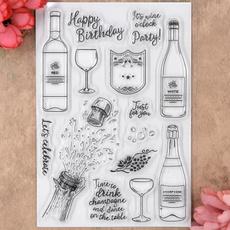happybirthday, scrapbookingamppapercraft, Stamps, Card