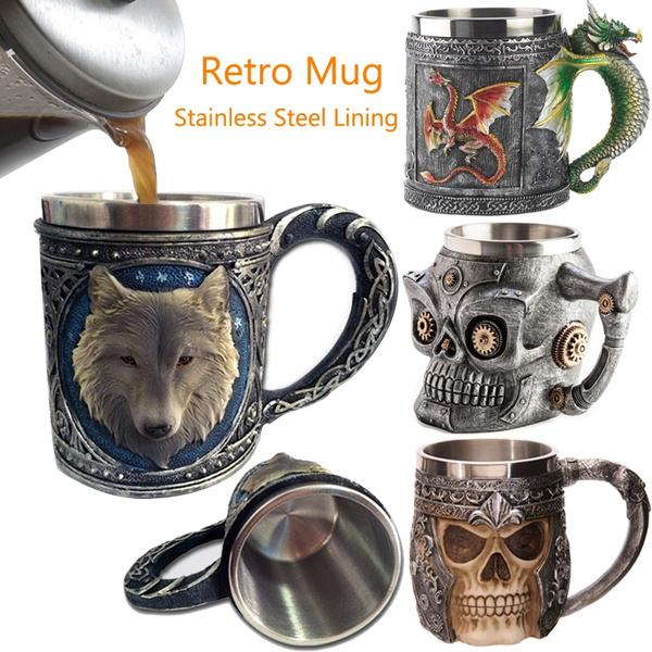 Steel, King, Coffee, Stainless