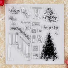 Card, Christmas, scrapbookingamppapercraft, rubberstamp