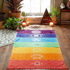 bohemia, rainbowbohobeachyoga, beachshawlscarve, beachmat