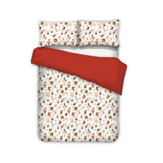3pcsbeddingset, Christmas, comfortersampbeddingset, Santa Claus