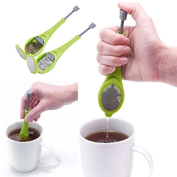 kitchengadget, gadget, longhandledteastrainer, teainfuser