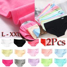 Underwear, Plus Size, womenunderpant, softbrief