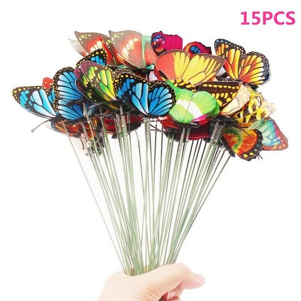 butterfly, Decor, Gardening, Garden