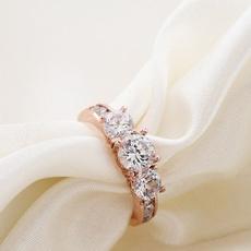 Cubic Zirconia, platinum, DIAMOND, Jewelry