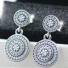 Sterling, Fashion, Pearl Earrings, sterling silver