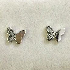butterfly, Sterling, Silver Jewelry, Fashion