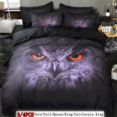 case, Owl, kingsizecomforterset, King