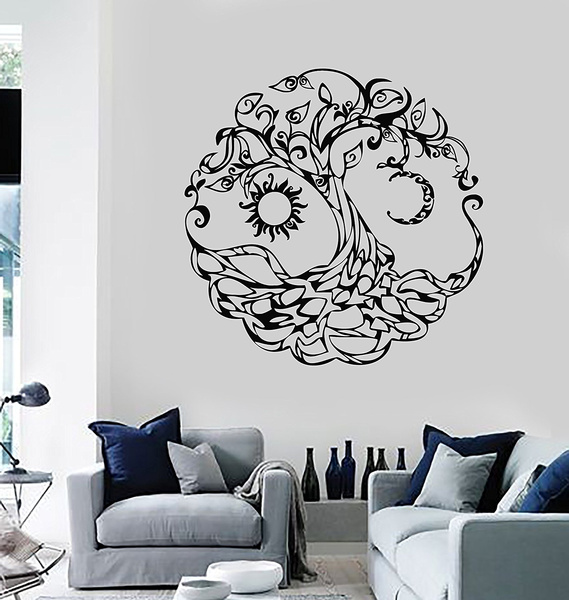 Tree, vinyldecalstickerhomedecor, playroomwalldecor, living room