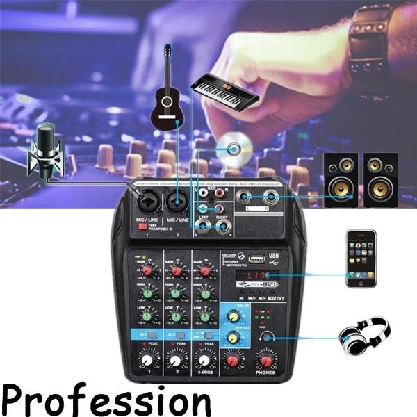 4channelmixer, Console, usb, recordingmixer