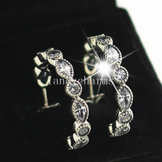 Sterling, Silver Jewelry, Fashion, Stud