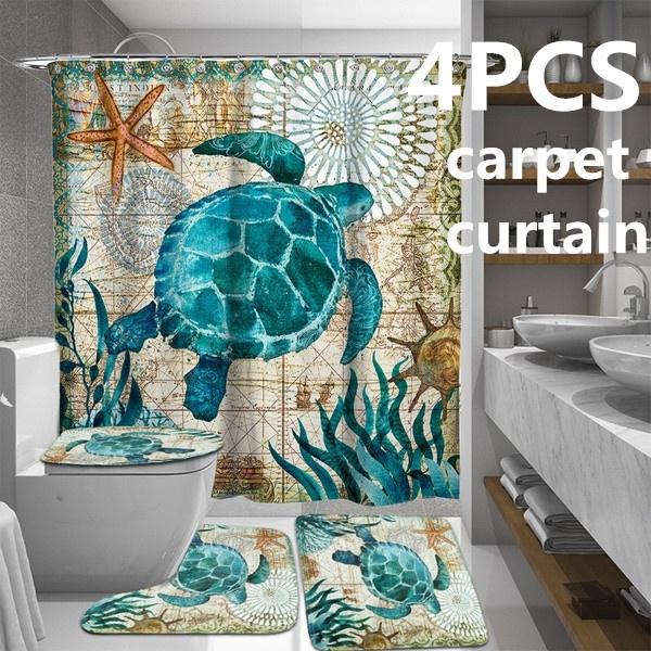 Turtle, Bathroom, Bathroom Accessories, Waterproof
