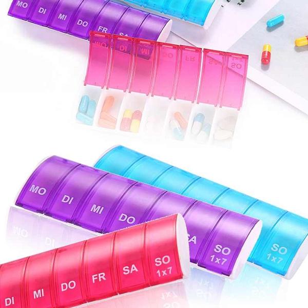Box, Tablets, 7daypillbox, pillstorageboxe