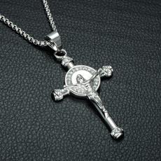 hip hop jewelry, Christian, Cross Pendant, claviclechainnecklace