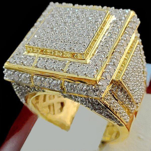 24kgold, ringsformen, DIAMOND, 925 sterling silver