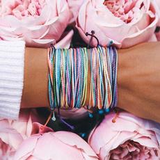 Summer, rope bracelet, colorfulbracelet, Gifts