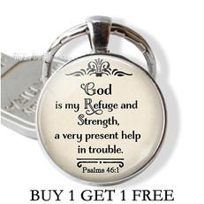 biblequote, Ring, Key Chain, quotekeychain