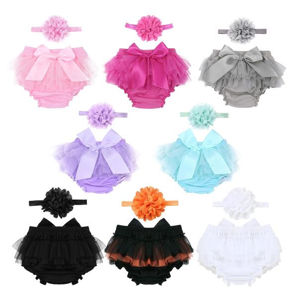bowknot, Underwear, Flowers, babyromper