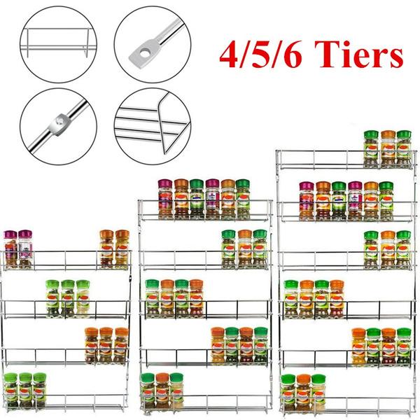 Kitchen Storage & Organization, Wall Mount, Door, spicestorage