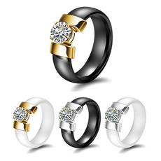 Steel, Fashion, wedding ring, Engagement Ring
