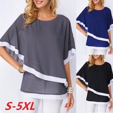 Summer, Bat, Plus Size, Shirt