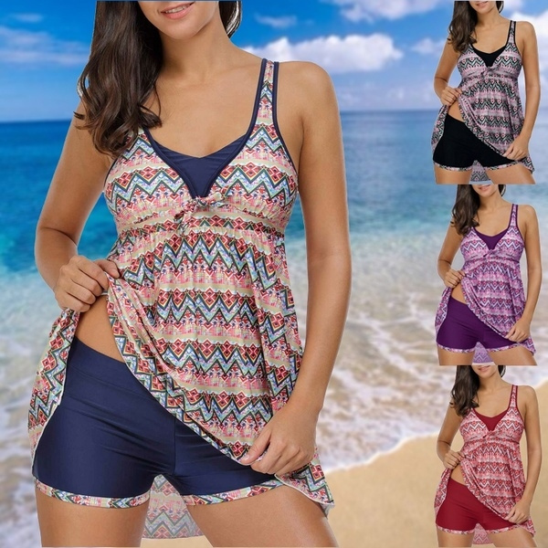 Fashion, asymmetric, swim dress, Swimwear