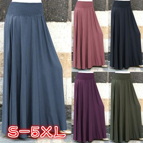 Skirts, long skirt, Plus Size, Waist