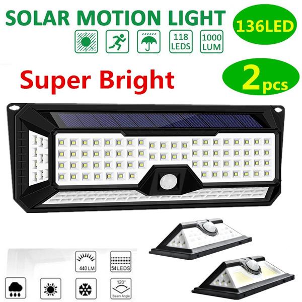motionsensor, walllight, solarpoweredgadget, led