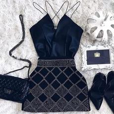 slim dress, Moda, Joyería, Mini
