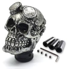 knobs, Head, gear, skull