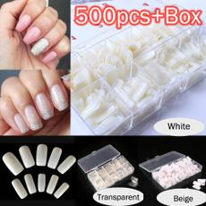 Box, nail stickers, Fashion, nail tips