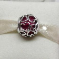 Charm Bracelet, Charm Jewelry, Silver Jewelry, Love
