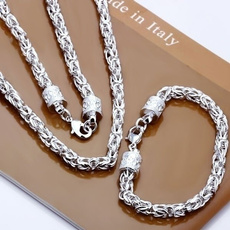 Sterling, Set, 925necklace, Bracelet