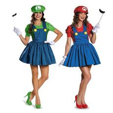plumber, Cosplay, Dress, Sexy Dress