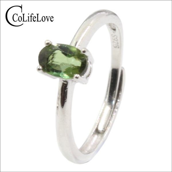 925silvertourmalinering, Engagement, Jewelry, Silver Ring