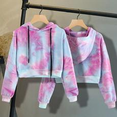 Fashion, crop top, Hoodies, Sleeve