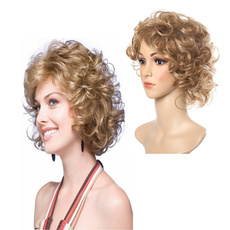 wig, Synthetic Lace Front Wigs, Shorts, wigsforwomen