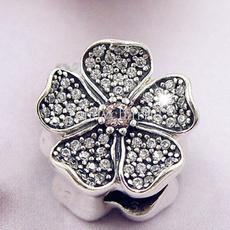 Charm Bracelet, Charm Jewelry, Apple, Sterling