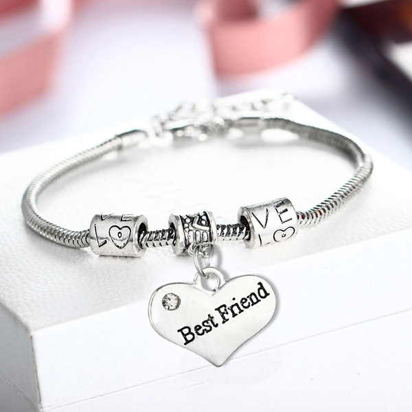 Charm Bracelet, Heart, Fashion Accessory, Women's Fashion & Accessories